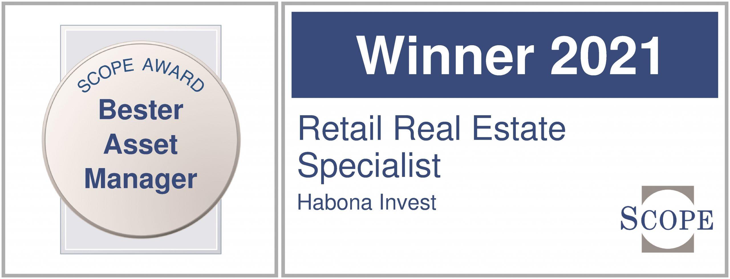 Habona gewinnt Scope Award