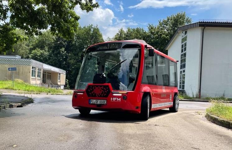 Busbee der VEG: elektrisch und autonom fahrender Bus
